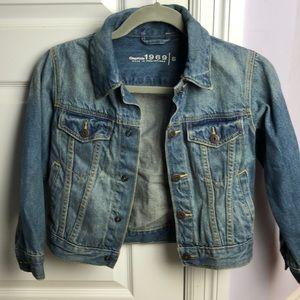Gap kids size small jean jacket